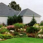 Perennial Garden & Limestone Outcroppings in Woodbury MN